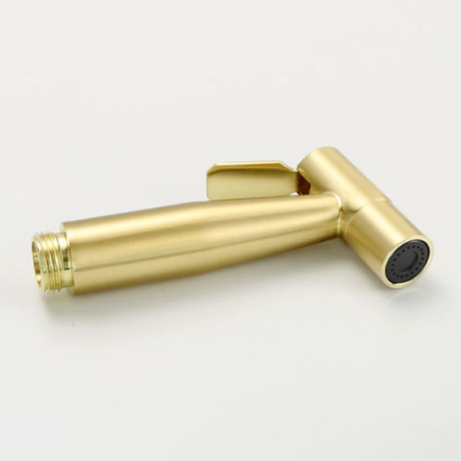 hand bidet spray gun gold color
